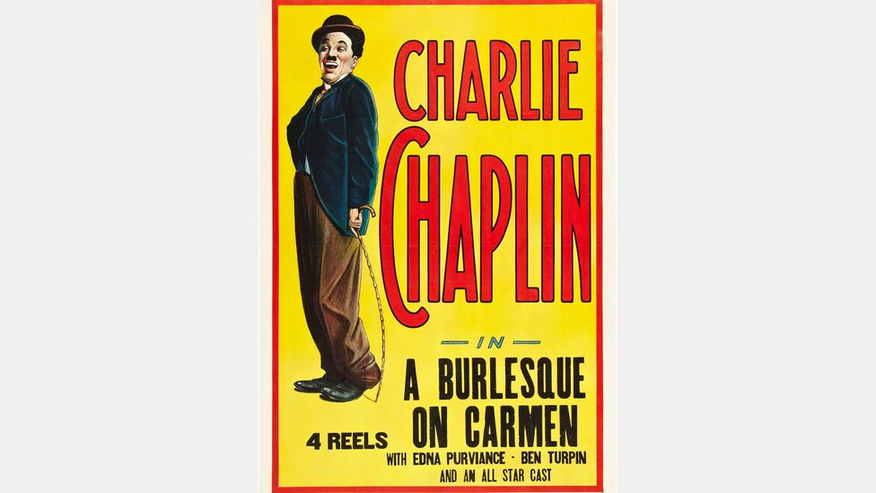The ROH production reflects Charlie Chaplin's A Burlesque on Carmen from 1915, which parodies the well-known story (Credit: Alamy)