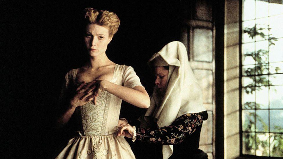 Gwyneth Paltrow in Shakespeare in Love (Credit: Alamy)