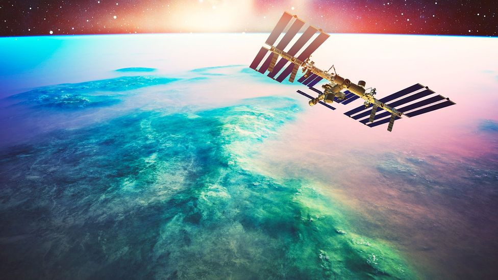 Satellites - and even the ISS - have to spend as little time as possible in this disruptive zone (Credit: Getty Images)