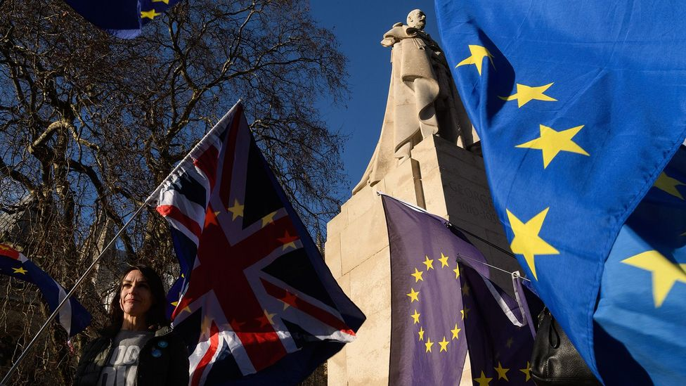 A 2017 survey, which ranked nations on how attractive they were to expats, found the UK had dropped 21 places from the year before – partly due to Brexit (Credit: Getty Images)
