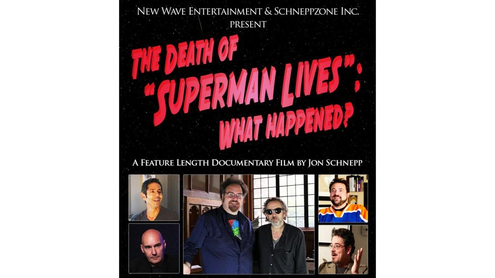 Jon Schnepp directed a documentary, released in 2015 after being partially funded by Kickstarter, called The Death of Superman Lives: What Happened? (Credit: Alamy)