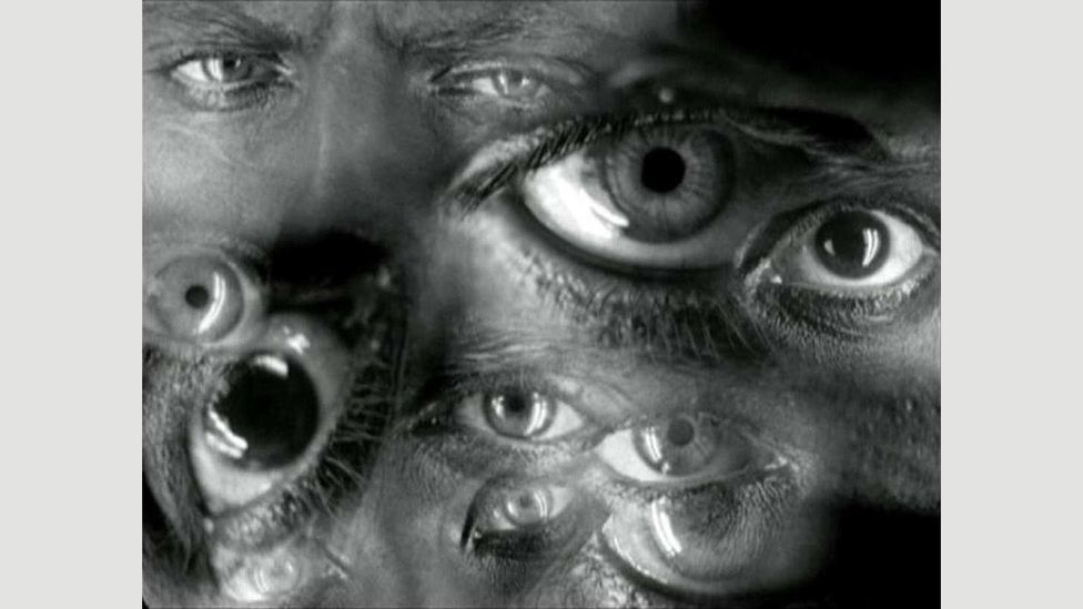 The eye has come to represent surveillance and the fear of being watched, as in Fritz Lang's 1927 silent sci-fi film Metropolis (Credit: Kino)