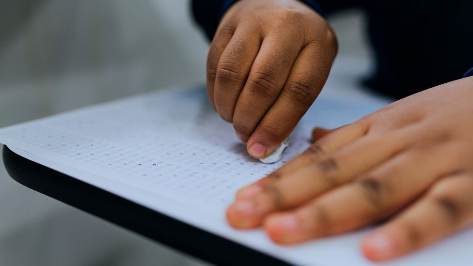 Rather than perfectionism leading to academic success, researchers have found high-achieving adolescents are more likely to become perfectionists (Credit: Getty Images)