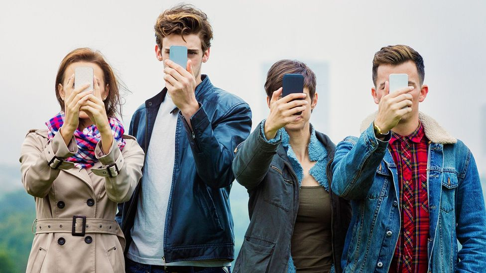 As well as reinforcing unrealistic standards, social media gives us more reason to fear making mistakes (Credit: Getty Images)