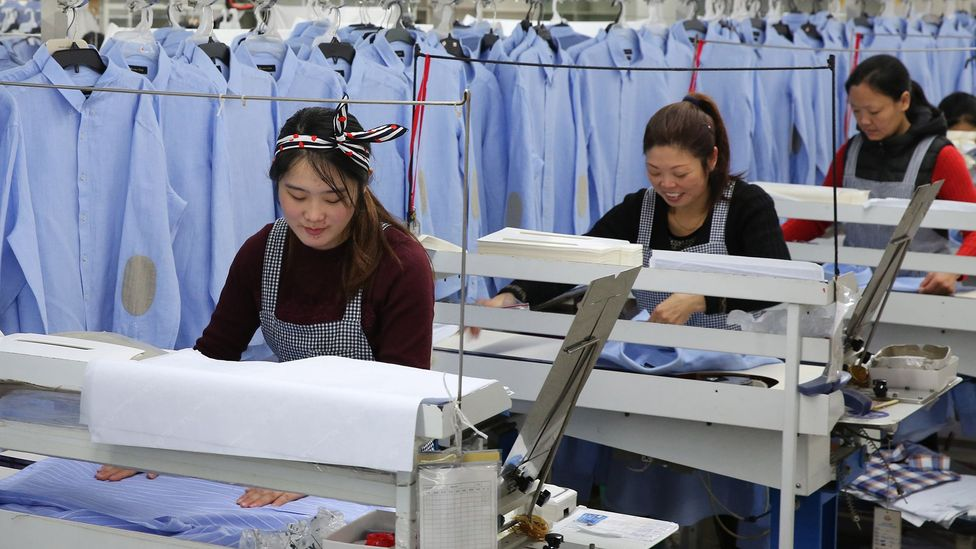 Female labour rates in China have steadily dropped since the 1970s (Credit: Getty Images)