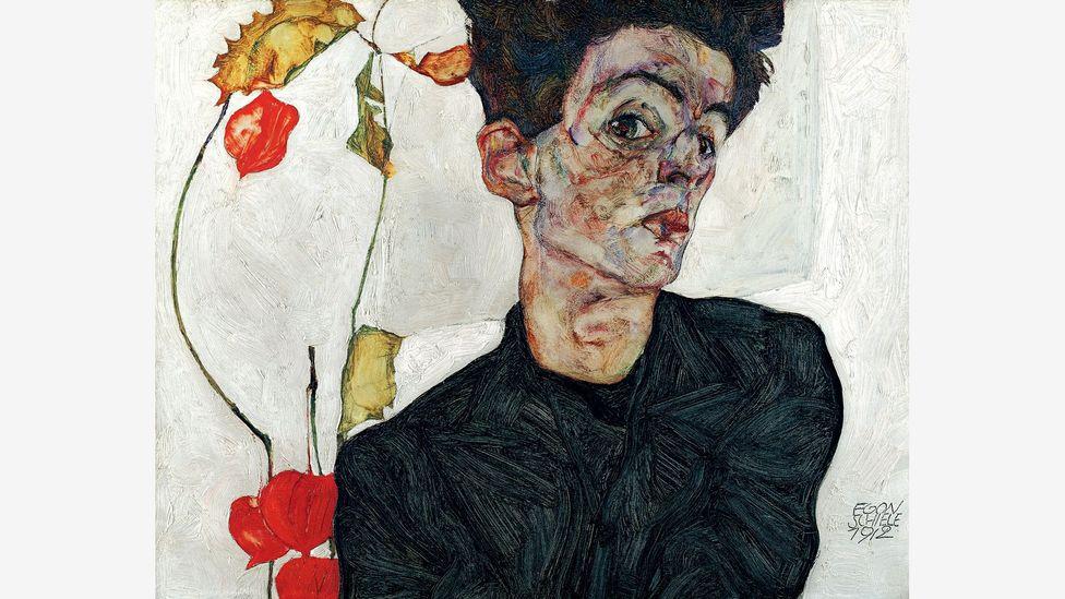 Schiele's tortured, contorted figures found little appreciation in Vienna (Credit: Leopold Museum)