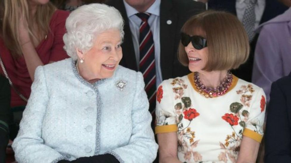 Her Majesty the Queen at LFW (BFC)