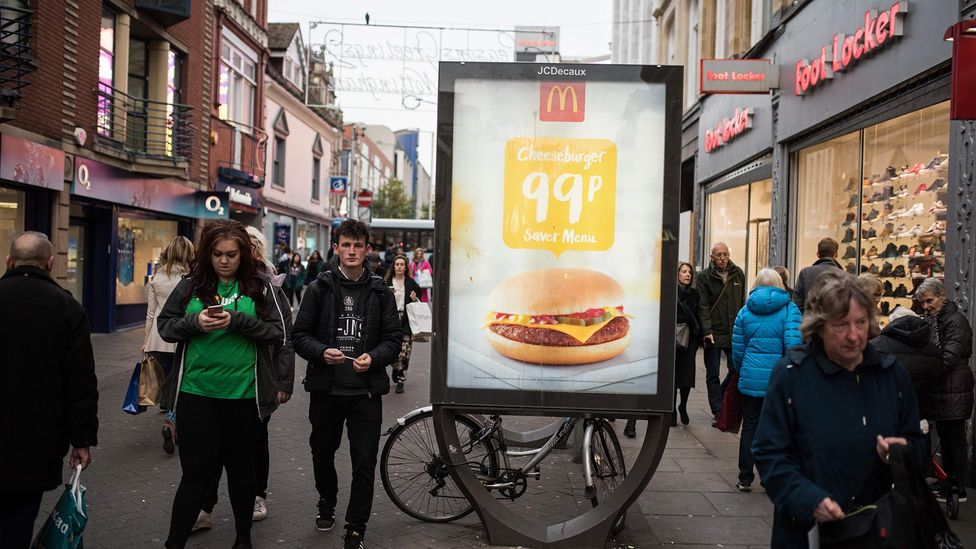 £1 meals aren't common in the UK, but pricing wars in the US could prompt international franchisees of companies like McDonald's to try their luck (Credit: Getty Images)