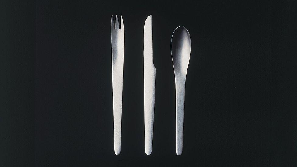 The Arne Jacosben-designed silverware has been recreated (Credit: Radisson Blue Royal Hotel)