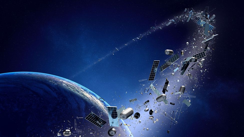 Space debris (Credit: Getty Images)