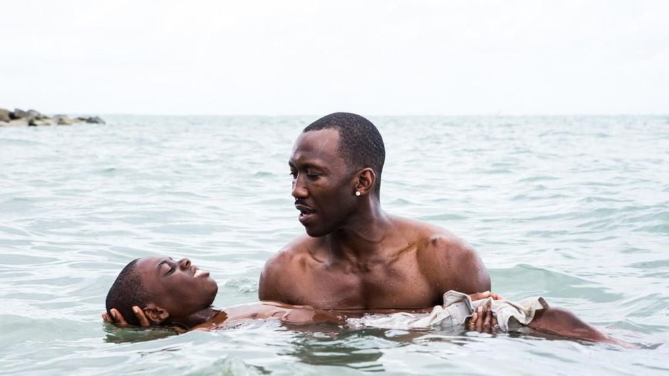 With its double themes of race and sexuality, 2017 best picture winner Moonlight may have paved the way for this year's crop of nominations (Credit: Cinetic Media)
