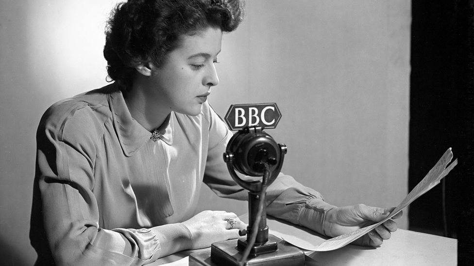 For many years, the BBC would only allow RP accents to appear on its airwaves (Credit: BBC)
