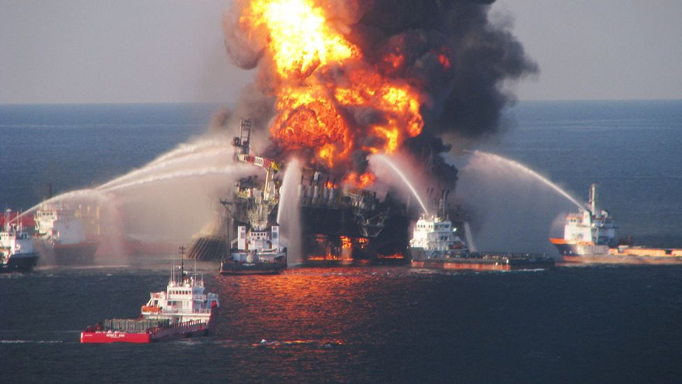 The Deepwater Horizon accident caused horrendous damage to the ecosystem in the Gulf of Mexico (Credit: Getty Images)