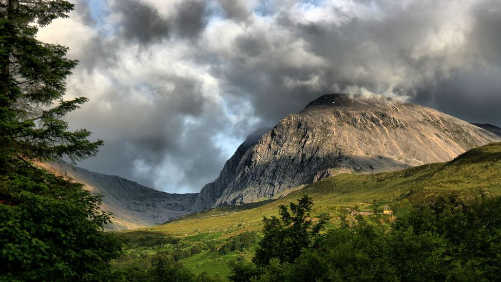 Each year, 150,000 people hike Scotland's Ben Nevis, a former volcano and Britain's highest mountain (Credit: Maas-ter/Getty Images)