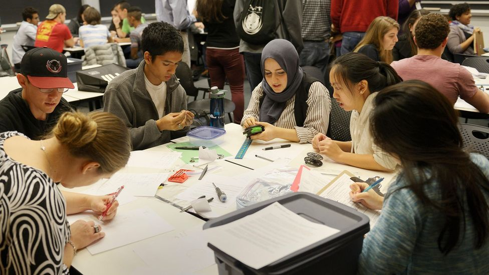 Increased multiculturalism powered by more migration has resulted in classrooms that are more diverse than ever (Credit: Alamy)