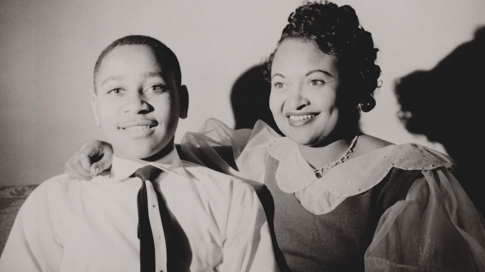 Emmett Till, a 14-year-old African-American, was lynched in Mississippi a few days after allegedly wolf-whistling at a white woman in a grocery store (Credit: Alamy)