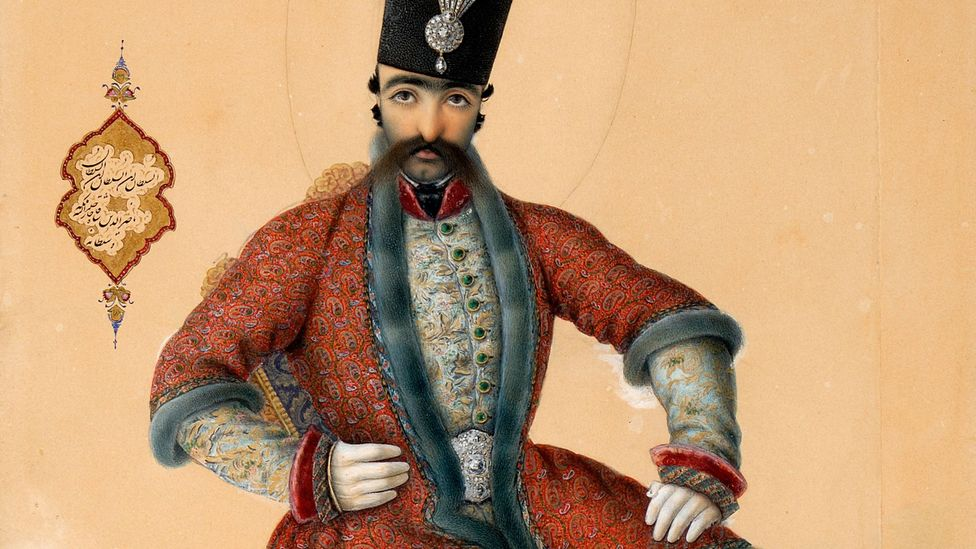 Nasir al-Din (also Nasseredin) is the most well-known of the Qajar monarchs (Credit: Musée du Louvre)