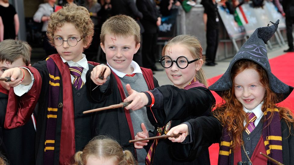 Harry Potter is the best-selling book series of all time, inspiring a generation of fans (Credit: Alamy)