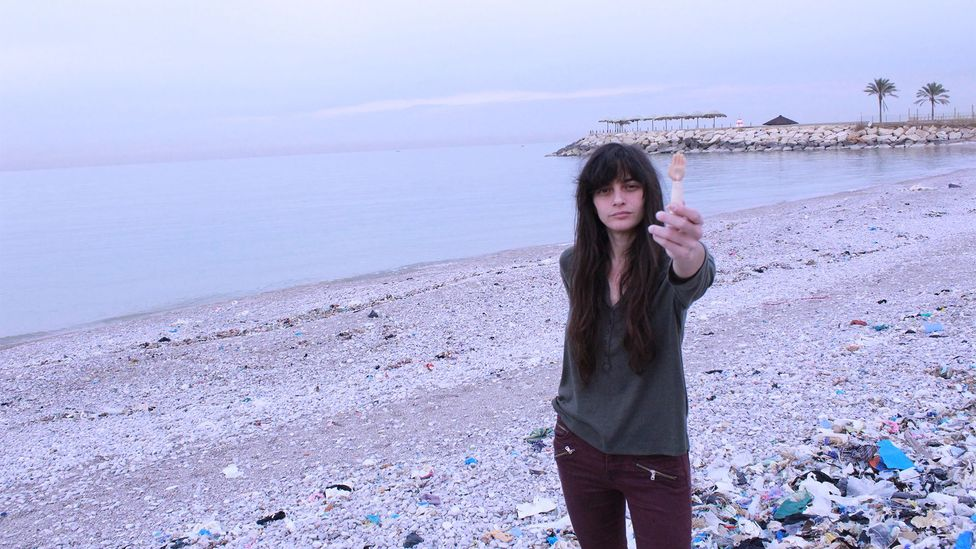 Recycle Lebanon's Joslin Kehdy says we should all be giving a helping hand towards ridding the country of its waste crisis (Credit: Sophia Smith Galer)