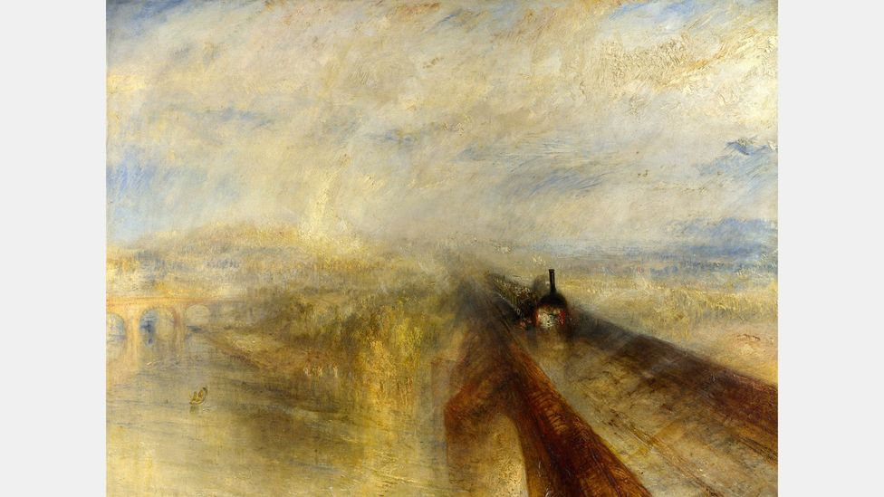 Joseph Mallord William Turner used Indian Yellow in his 1844 painting Rain, Steam, and Speed: The Great Western Railway (Credit: Alamy)
