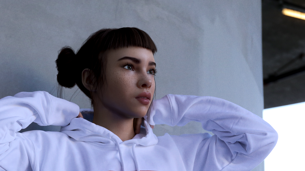 """Los Angeles-based Brud specialises in """"problem-solvers in robotics, artificial intelligence and their applications to media businesses"""" (Credit: Instagram/lilmiquela)"""