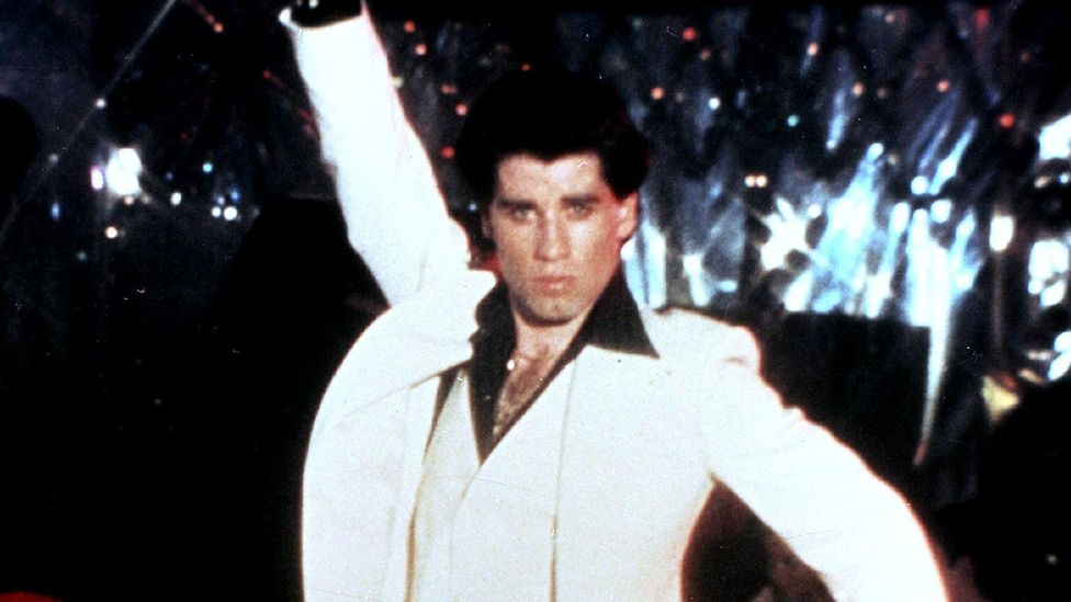 John Travolta in Saturday Night Fever (Credit: Alamy)