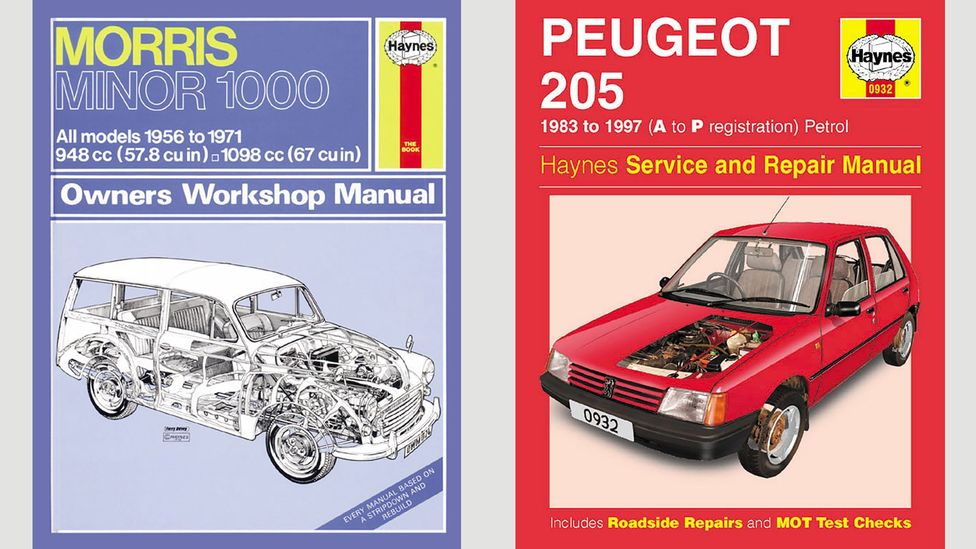 Even 50 years ago, Haynes car manuals were instantly recognisable for their clarity and practicality (Credit: Haynes Publishing)