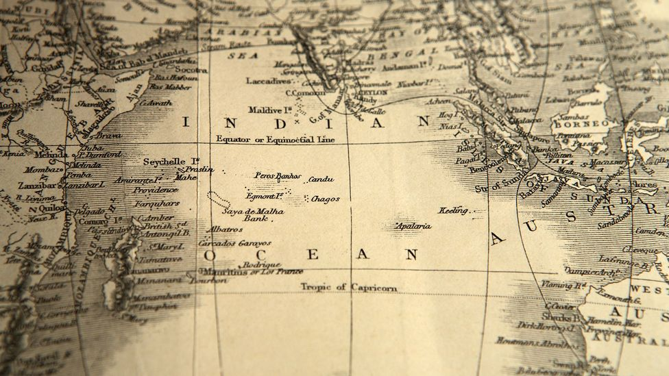 Map of Indian Ocean (Credit: Getty Images)