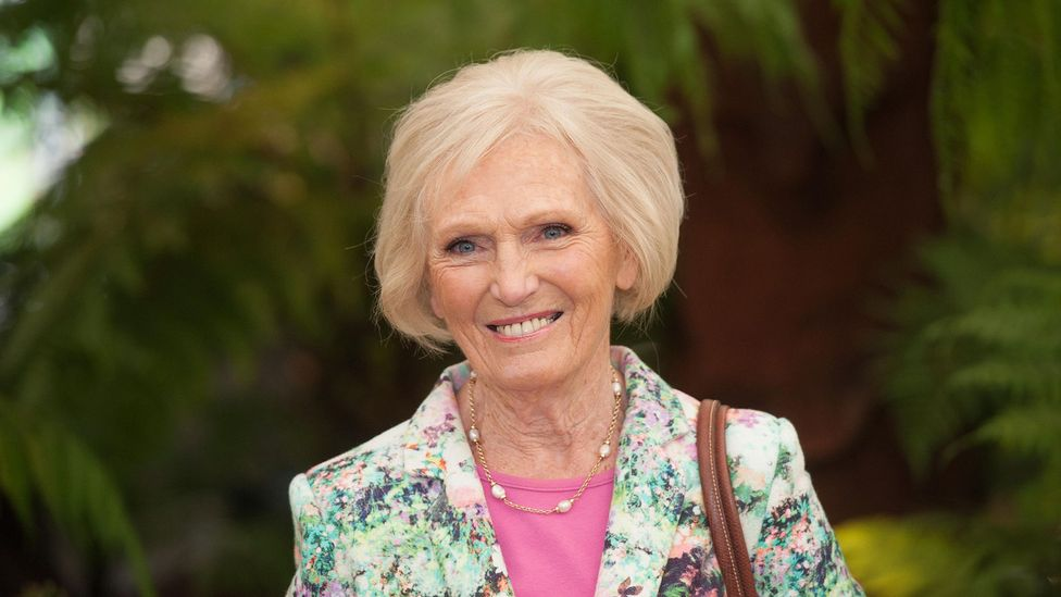 Might Mary Berry's fruity last name have guided her to a wildly successful career in the food industry? (Credit: Alamy)