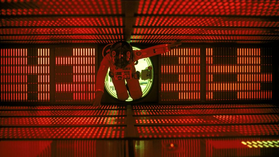 HAL, the artificially intelligent pilot of the film's spacecraft, spells trouble for the humans on board (Credit: Alamy)