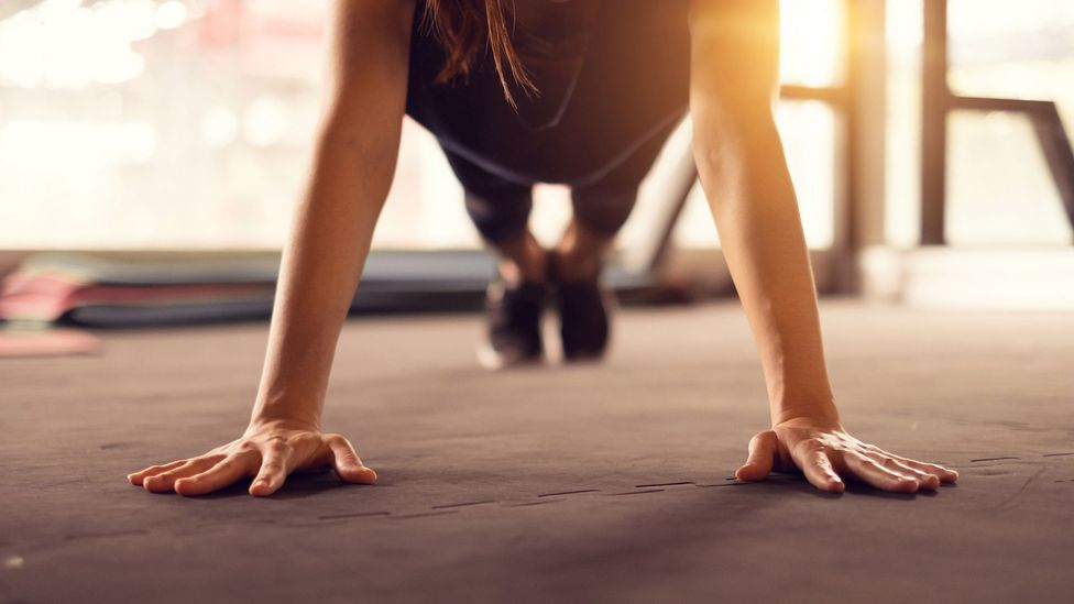 We can feel stressed if we think we're not doing enough exercise (Credit: Getty Images)