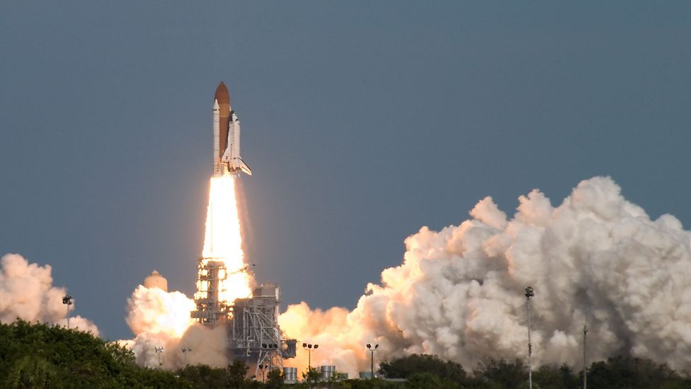 Space Shuttles returned to Earth - but there are many other iconic space relics still in orbit (Credit: Getty Images)
