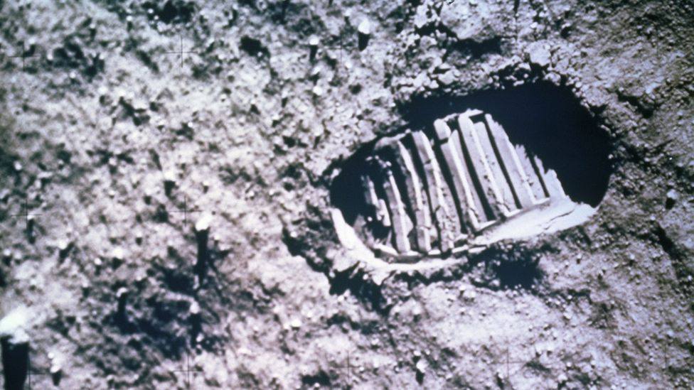 The footprints from Apollo astronauts are likely to be things we would try to protect (Credit: Getty Images)