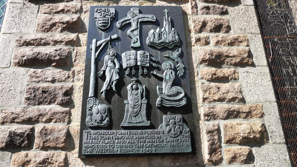 The 'Prayer Book Rebellion' of 1549 was crushed, with around 4,000 Cornish killed (Credit: Alamy)