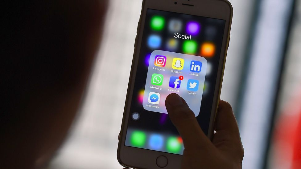 Commentators frequently blame social media for dividing groups of people (Credit: Getty Images)