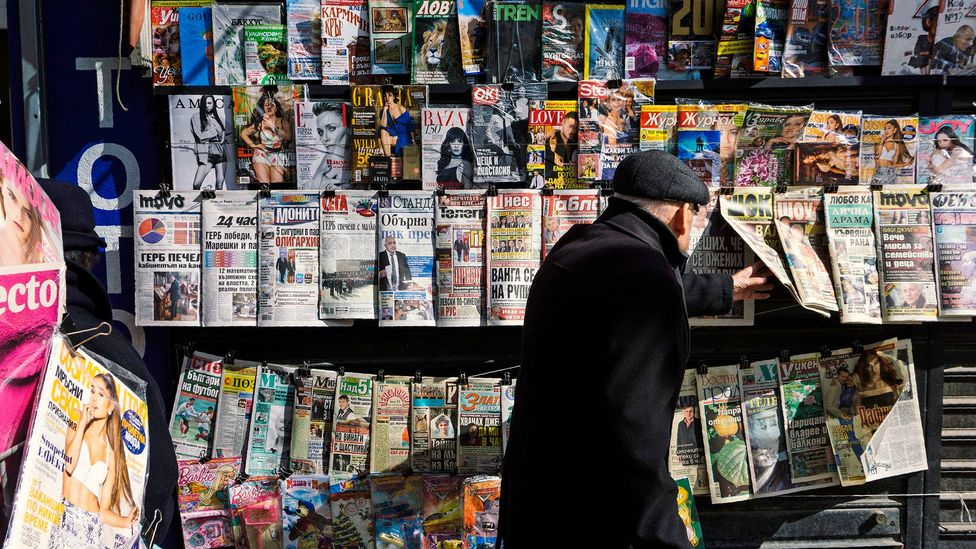 Many people already seek out news sources that do not match their own preconceptions (Credit: Getty Images)
