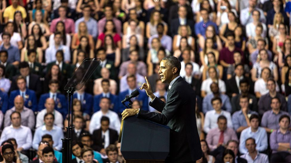 One study found that supporters of Barack Obama subsequently were more likely to express a potentially racist view (Credit: Getty Images)