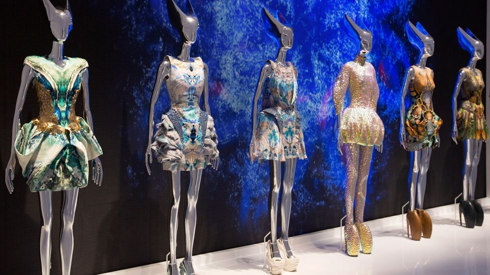 Alexander McQueen's extraordinary collection Plato's Atlantis was inspired by amphibian life (Credit: Victoria and Albert Museum, London)