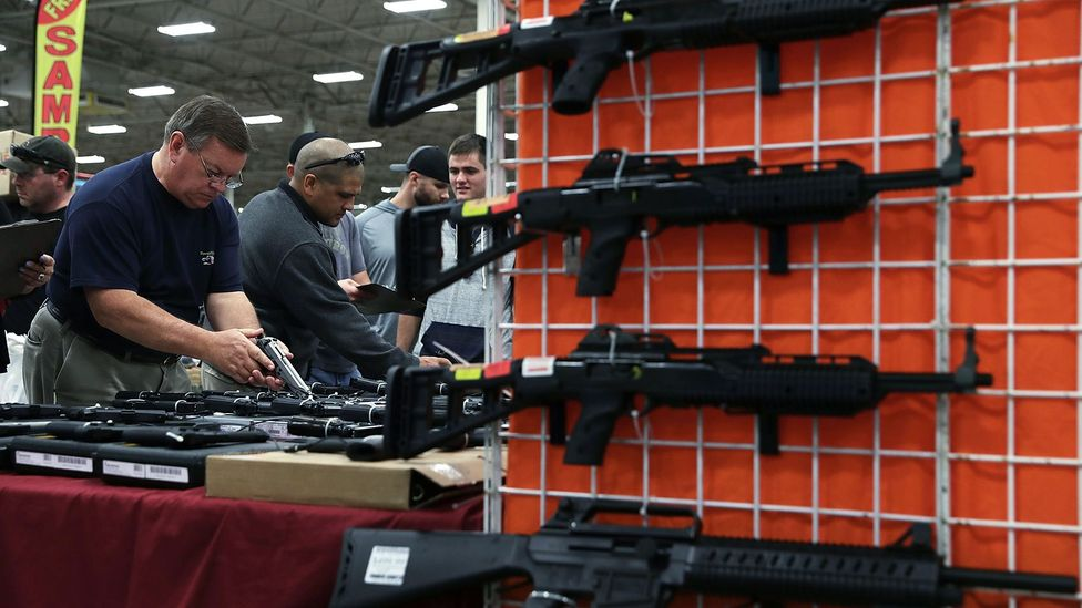 In the US, the firearms industry accounts for $50 billion (£35 billion) – still a relatively small part of the economy overall (Credit: Getty Images)