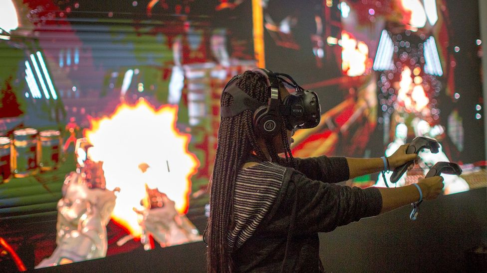 Female gamers say the sexism would subside if more women entered the industry and if more video games introduced lead female characters (Credit: Getty Images)