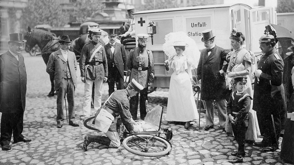 Both first aid technology, and advice, have changed a great deal over time (Credit: Getty Images)
