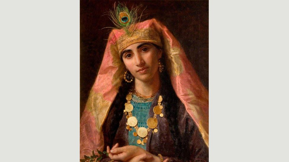 Scheherazade (painting by Sophie Gengembre Anderson) saved herself from death by telling stories night after night – becoming a hero for storytellers everywhere (Credit: Alamy)