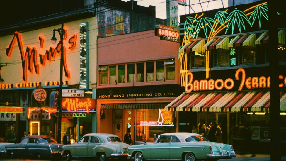 By the 1960s, Vancouver's neon became a symbol of deep civic controversy (Credit: Archive Photos/Getty Images)