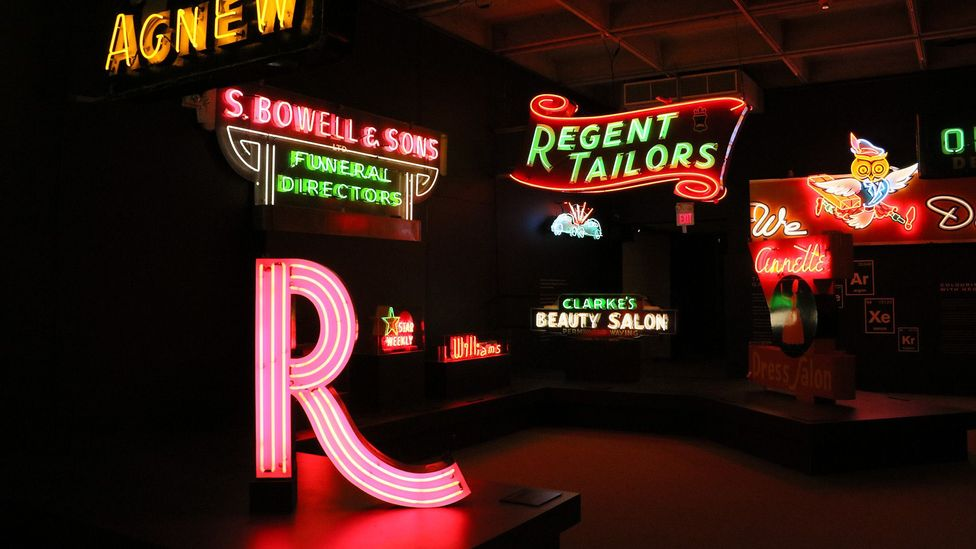 The Museum of Vancouver houses a permanent exhibit showcasing some of the city's historical neon signs (Credit: Mike MacEacheran)