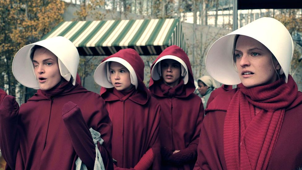 Hulu's TV adaptation of The Handmaid's Tale was the streaming service's biggest hit to date and the series won best drama at the Emmy Awards in 2017 (Credit: Hulu)