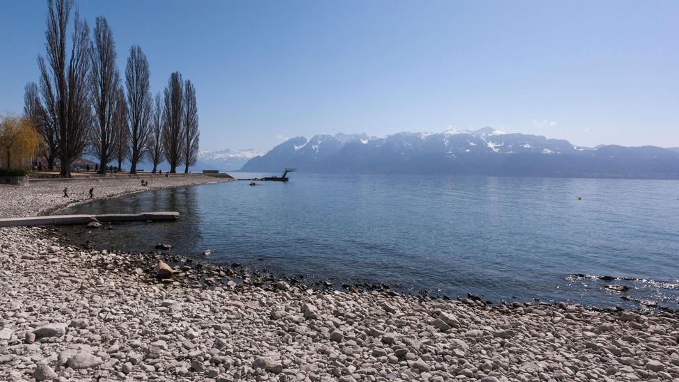 The team found many noxious chemical elements in the plastics from Lake Geneva (Credit: Alamy)