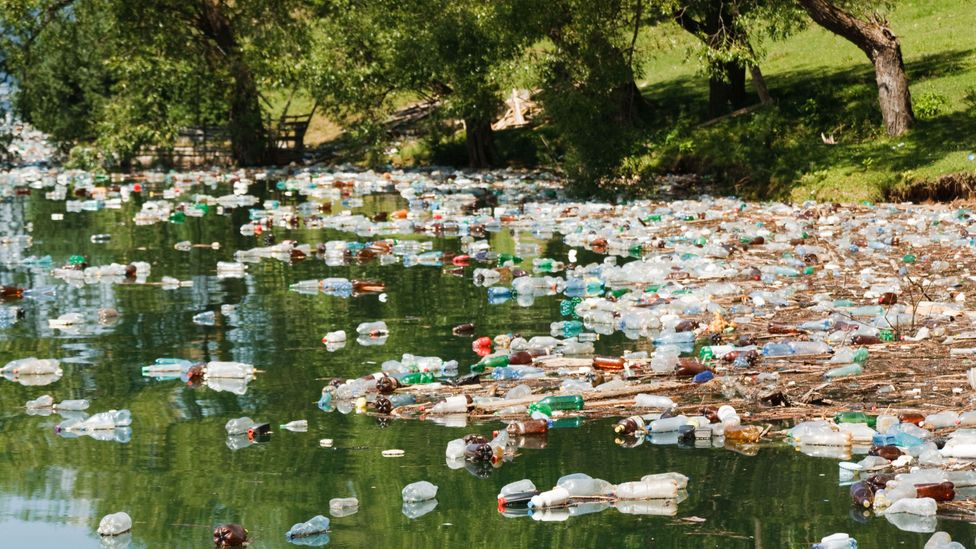 Rivers may be a major source of ocean plastic pollution (Credit: Alamy)