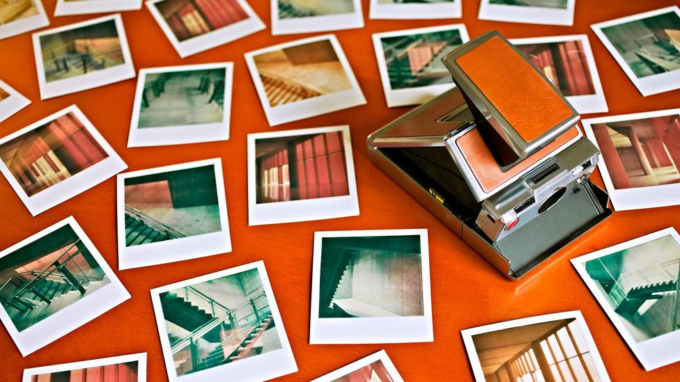 Polaroid camera and pictures (Credit: Getty Images)