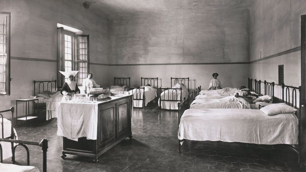 For decades, being institutionalised in a mental hospital was the main 'treatment' for depression (Credit: Getty Images)
