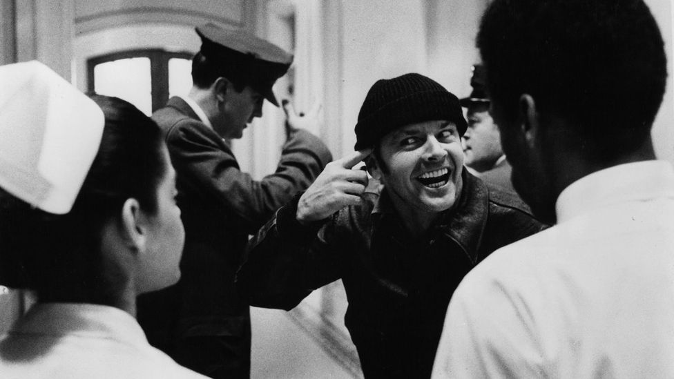 Jack Nicholson's performance in One Flew Over the Cuckoo's Nest – in which he received ECT without anaesthetic as punishment – helped spur public outrage (Credit: Getty Images)
